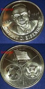 2M-93 Dwight D. Eisenhower medal