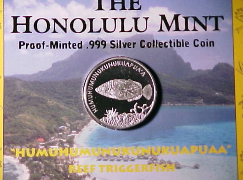 The Honolulu Mint Issue